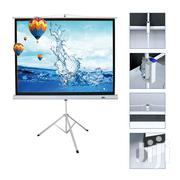 Tripod Projector Screen 72 X 72 Inches | Accessories & Supplies for Electronics for sale in Abuja (FCT) State, Wuse 2