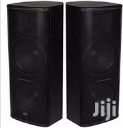 TT-55 Dual 15inchs Full Range Speakers-a Pair   Audio & Music Equipment for sale in Rivers State, Ikwerre