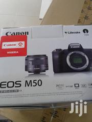 Canon M50 With 15-45mm Lend | Photo & Video Cameras for sale in Lagos State, Lekki Phase 2