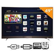 TCL FULL HD Curve Smart TV 49-inch +12 Months Warranty | TV & DVD Equipment for sale in Lagos State, Oshodi-Isolo