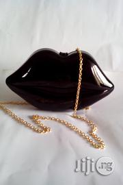 Cllassic Lipshape Clutch Purse (Black) | Bags for sale in Lagos State, Amuwo-Odofin