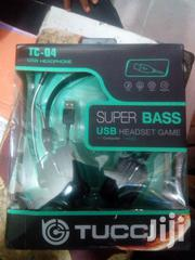 Tucci Tc-q4 USB Headphone, Supper Bass USB Headset Game | Headphones for sale in Lagos State, Ikeja