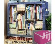 Generic Wooden Wardrobe With Storage Box (L170, D45, H170cm) | Furniture for sale in Rivers State, Port-Harcourt