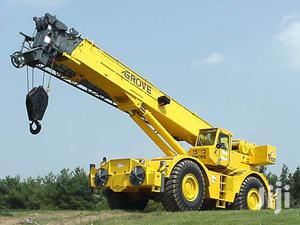Crane, Excavator And Swamp Buggy For Hiring