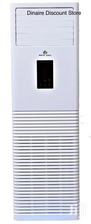 High Quality White Gold 5TON Floor Standing Unit Air Conditioner | Home Appliances for sale in Lagos State, Ojo