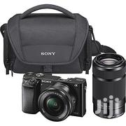 Sony Mirrorless Digital Camera 16-50mm and 55-210mm Power Zoom Lenses | Photo & Video Cameras for sale in Delta State, Warri South-West