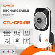 Lontor 12 Inch Rechargeable Mist Fan With Remote | Home Appliances for sale in Ondo State, Akure South