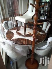 Round Marble Dinning Wt 6 Chairs | Furniture for sale in Rivers State, Port-Harcourt