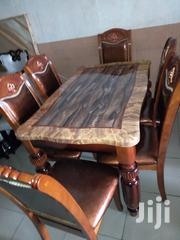 Marble Dinning Wt 6chair | Furniture for sale in Rivers State, Port-Harcourt
