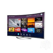 """Polystar 43"""" INCH CURVED SMART LED TV Free Wall Bracket   TV & DVD Equipment for sale in Lagos State, Ikeja"""