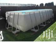 Intex Rectangular Above-the-ground Swimming Pool | Sports Equipment for sale in Lagos State, Ikeja