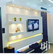 Gypsum Tv Wall Unit Console | Furniture for sale in Abuja (FCT) State, Lokogoma