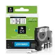 Dymo 12mm X 7mm Tape Black On White - 45013   Computer Accessories  for sale in Lagos State, Ikeja