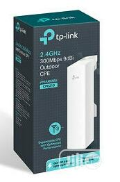 Tp-Link 2.4ghz 300mbps 9dbi Outdoor CPE Wireless Access Point CPE210 | Networking Products for sale in Lagos State, Ikeja
