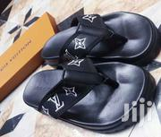 Black Fashionable Designs Latest Louis Vuitton Slippers | Shoes for sale in Lagos State, Lagos Island