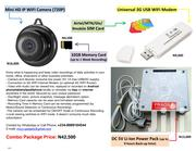 CCTV Mini HD IP WIFI Camera (Full Package)   Security & Surveillance for sale in Lagos State, Surulere