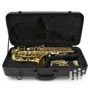 Premier Deluxe Professional Alto Saxophone – Gold | Musical Instruments & Gear for sale in Lagos State, Lagos Mainland
