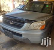 Honda Pilot 2004 EX-L 4x4 (3.5L 6cyl 5A) Green | Cars for sale in Lagos State, Ajah
