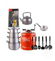 Economy Kitchen Bundle (6kg Gas Cylinder + 4 Pots + 1 | Kitchen & Dining for sale in Rivers State, Port-Harcourt