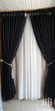 Plain Turkish Black Curtain | Home Accessories for sale in Lagos State, Ajah