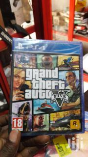 Play Station 4 Cd Game Grand Theft Auto Five Rockstar | Video Games for sale in Lagos State, Ikeja