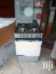 Scanfrost 3+1 Standing Gas Cooker With Oven Blue Flame Automatic | Kitchen Appliances for sale in Lagos State, Ojo