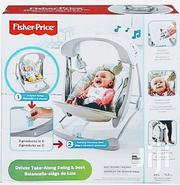 Fisher-price Deluxe Take Along Swing & Seat | Children's Gear & Safety for sale in Lagos State, Agboyi/Ketu