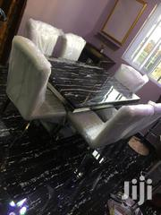 High Quality Standard Set Of Marble Dining Table With Six Chairs | Furniture for sale in Abuja (FCT) State, Utako