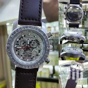 Classic Skeletal BULGARI Leather Wristwatch | Watches for sale in Lagos State, Lagos Island