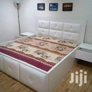 6*6ft Ulphostery White Bed Frame | Furniture for sale in Lagos State, Lagos Mainland