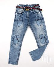 Girl's Jean Trouser | Children's Clothing for sale in Lagos State, Victoria Island