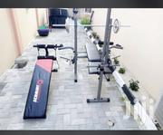 Weight Lifting Bench With Sit Up Bench | Sports Equipment for sale in Abuja (FCT) State, Lugbe District