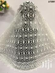 White Cord Lace Material. | Clothing for sale in Lagos State, Ikeja