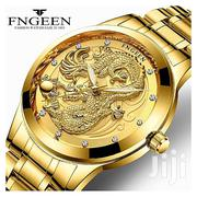 FNGEEN Men Wrist Watches Clock Stainless Steel   Watches for sale in Lagos State, Ikoyi