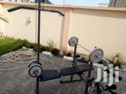 Brand New Weight Bench With 50kg Plate | Sports Equipment for sale in Lagos State, Lekki Phase 1