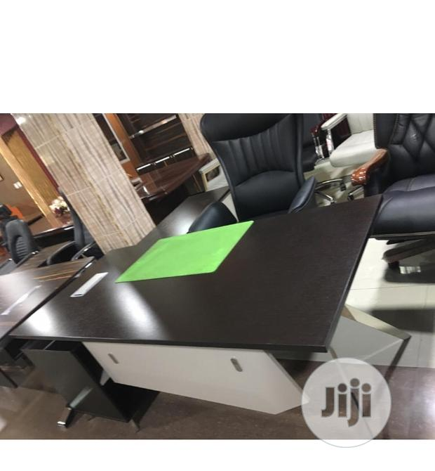 Pure Wood Executive Office Table 1.8 Meters by Size