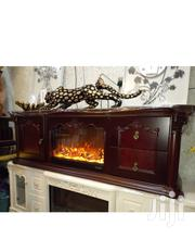 Pure Wood Fireplace Plasma Tv Stand | Furniture for sale in Lagos State, Ojo