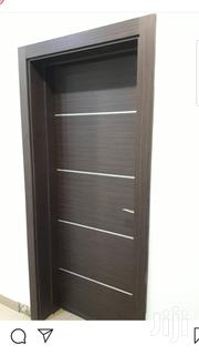 A High Quality Hdf Door, Designed With Chrome | Doors for sale in Lagos State, Mushin