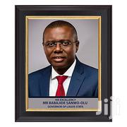 Photo Frame Of Lagos Governor 12x16 Inches | Home Accessories for sale in Lagos State, Ikeja