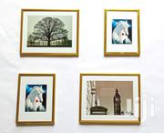 "Set Of Wallframes (4pieces Gold Colour) 8*10"",6*8"" 