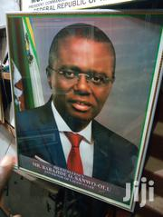 Picture Frame of Lagos Governor | Arts & Crafts for sale in Lagos State, Ikeja