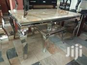 Marble Dining by 6 Chairs | Furniture for sale in Lagos State, Ojo