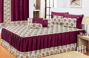 Bedspread With Same as Curtain