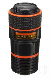 Black Universal 8X Zoom HD Optical Telescope Lens for Mobile Cell | Accessories & Supplies for Electronics for sale in Lagos State, Ikeja