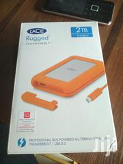 Lacie Rugged Thunderbolt 2TB Shock-resistant Rubber Sleeve Protective | Computer Accessories  for sale in Lagos State, Ikeja