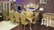 Luxury Standard Turkish Wooden Set Of Dining Table 8seaters | Furniture for sale in Abuja (FCT) State, Wuse II