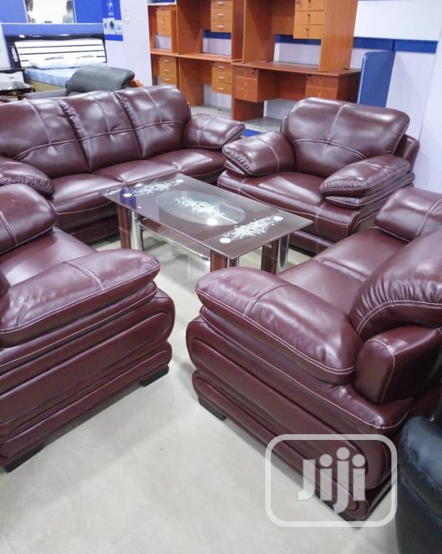 Standard Good Quality Leather Sofas Chair 7 Seaters