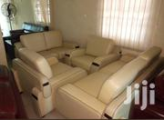 Good Quality Set of Leather Sofas Chair 7 Seaters   Furniture for sale in Lagos State, Lekki Phase 1