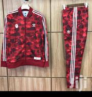 Adidas X Bathing Ape Tracksuit Red | Clothing for sale in Lagos State, Ikeja