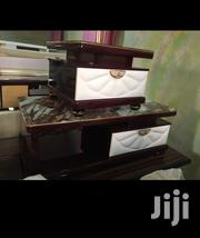 High Quality Set of Wooden Center Table With Two Side Stools | Furniture for sale in Lagos State, Ojo